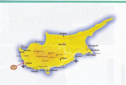Location in Cyprus